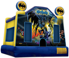 Batman Themed Bouncing House