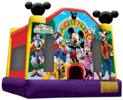Mickey Mouse Theme Bouncer