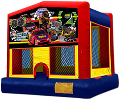 Race Cars Themed Bouncer house