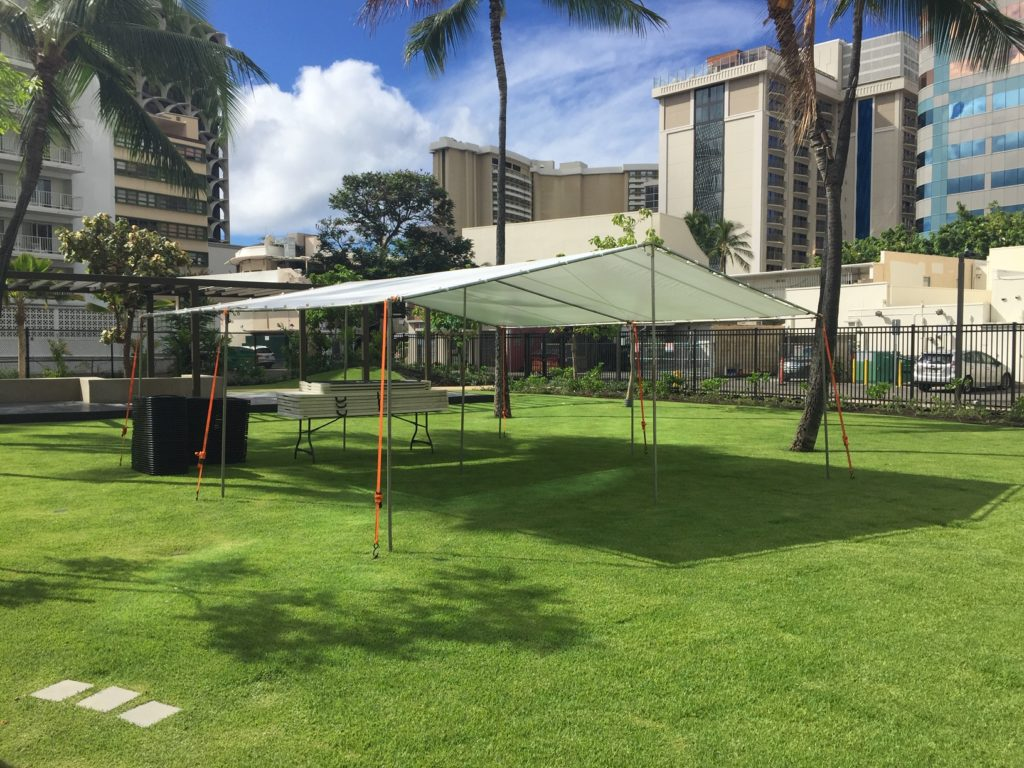 Tent Rentals Honolulu 10x10 To 30x80 A Amp B Party